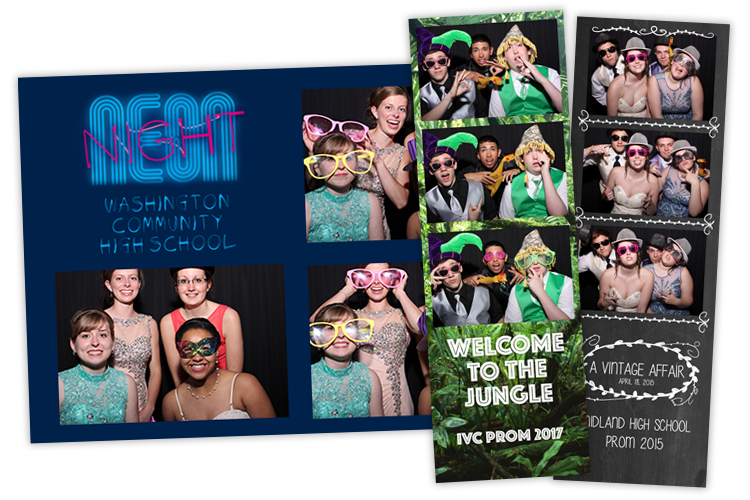 School Dance Photo Booths in Peoria