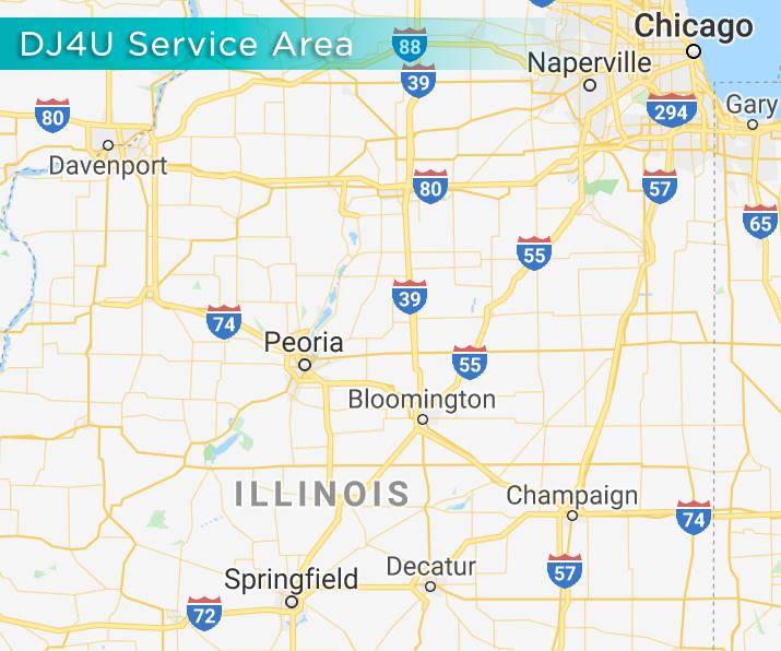 DJ4U - Illinois Service Area